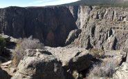 Ngarai Hitam di Panorama Gunnison