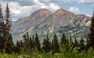 Cliff Creek Trail, Colorado Mt Owen dan Ruby Peak