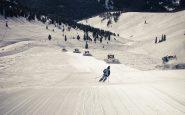 Jalur Corduroy yang Dirawat Resor Ski Vail