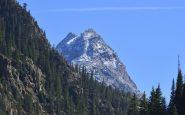 Puncak Piramida Pegunungan Colorado yang terkenal