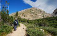 Jalur Pendakian Hutan Nasional Arapahoe Colorado