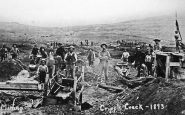 Cripple Creek CO 1893 Rush Gold Placer Mining