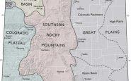 Colorado Map Physiographic Provinces